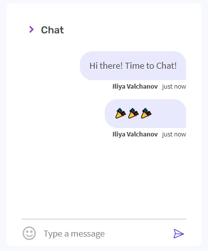 Product Update Number 1: Chat feature added to video calls