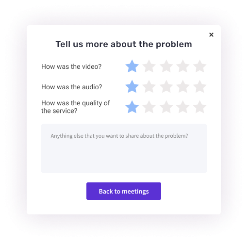 Product Update: New look and feel - feedback form