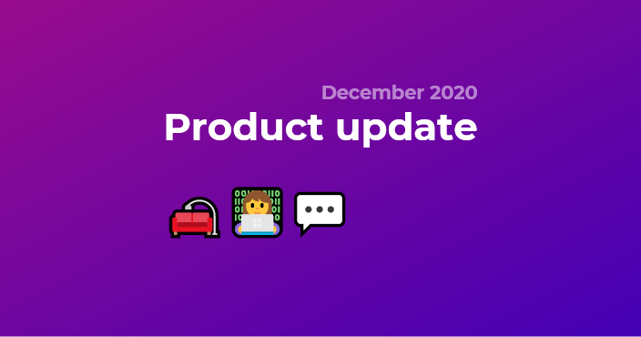 Product update december 2020: Chat, one-way meetings, waiting room,