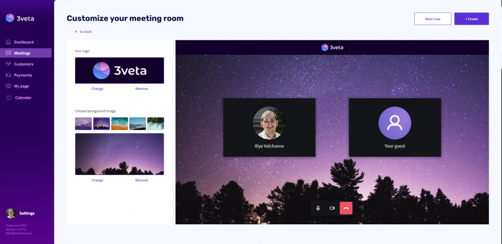 33. Product update - customize meeting room