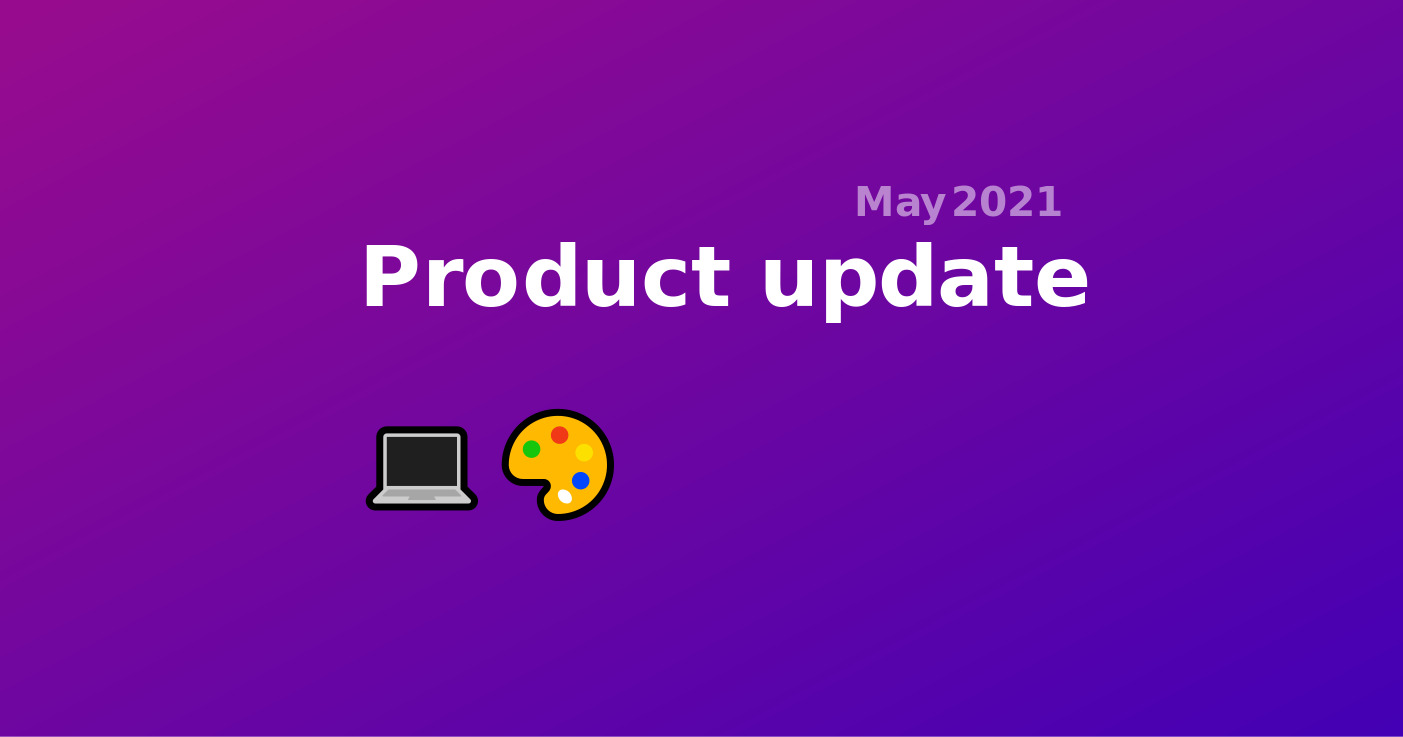 33. Product update May - Meeting Room Customization