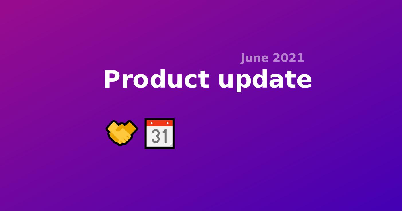 Product Update June - Scheduling Quick meetings