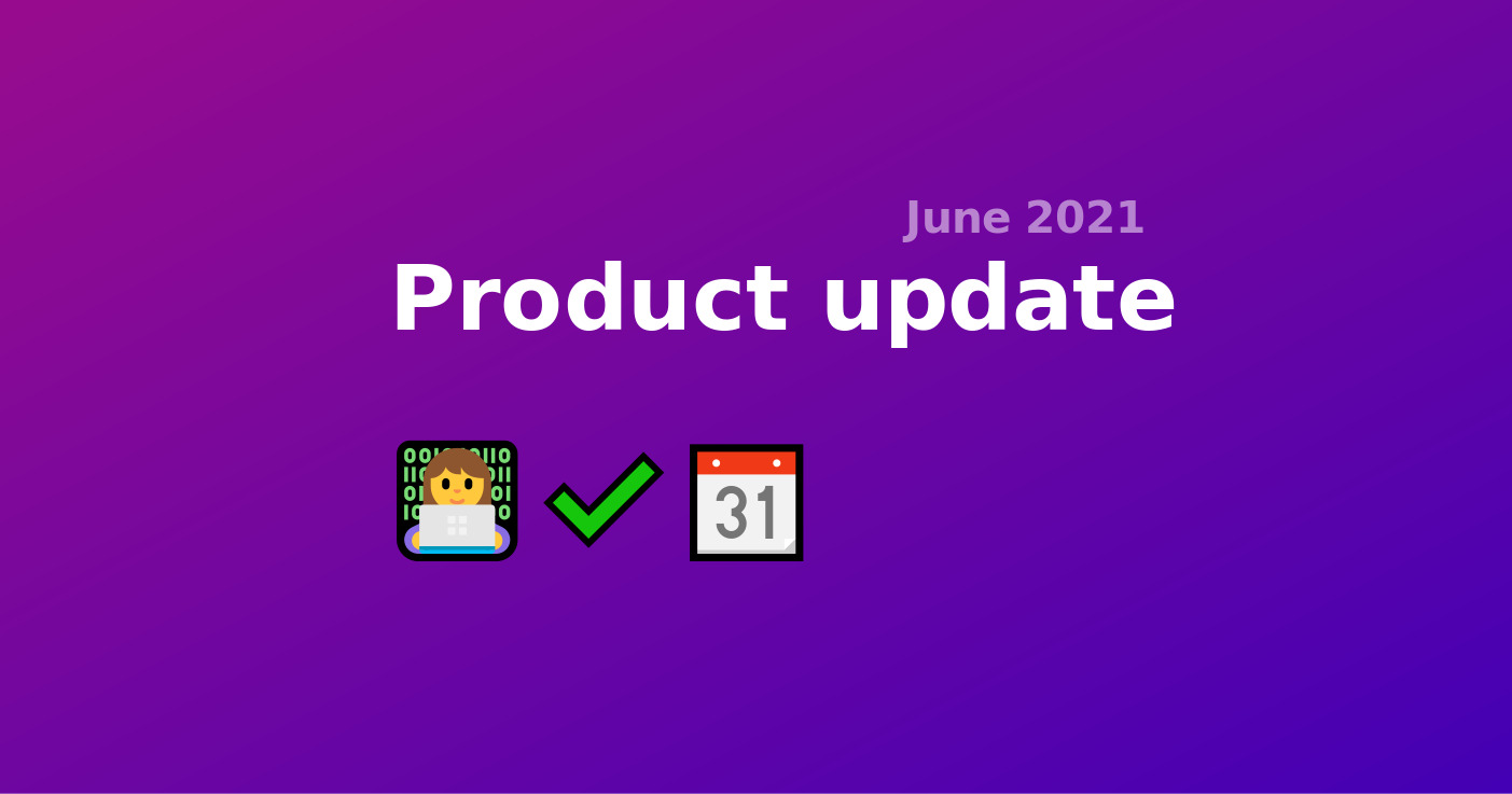 36. Product Update - My booking page